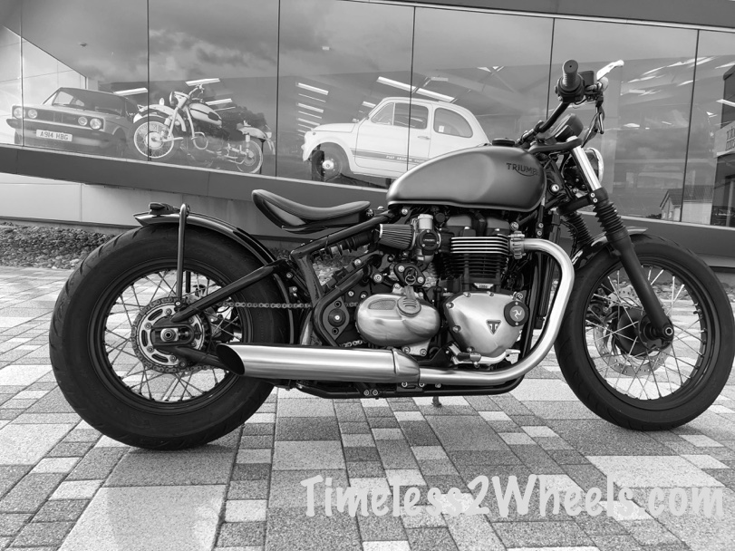 Triumph Bobber One Year Review Timeless 2 Wheels