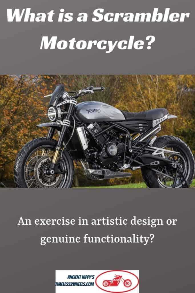What Is a Scrambler Motorcycle? Classic Scrambles To Retro