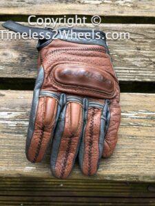 vintage motorcycle glove