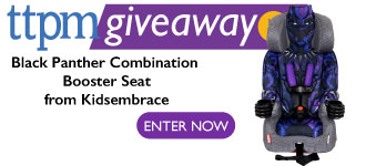 Black Panther Combination Booster Seat