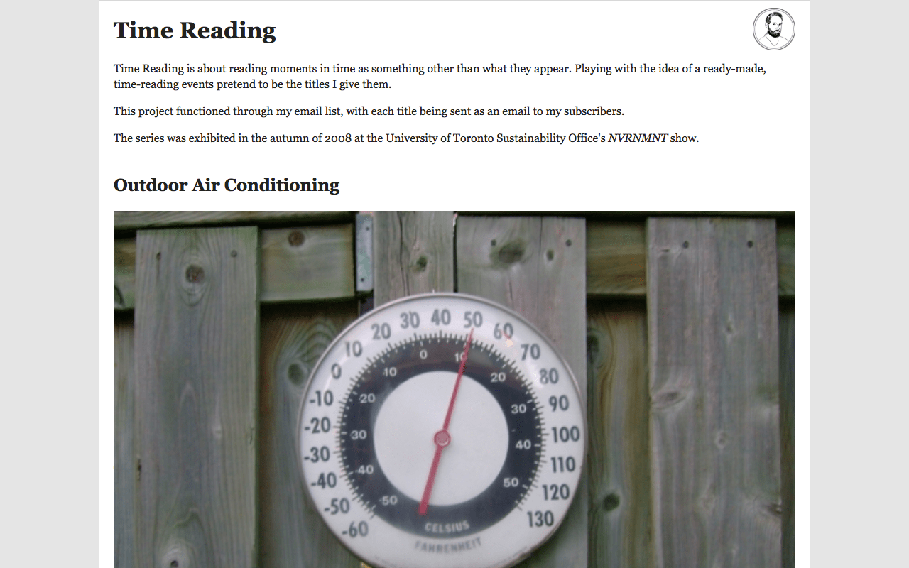 Time Reading screencap