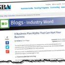 10 business plan myths