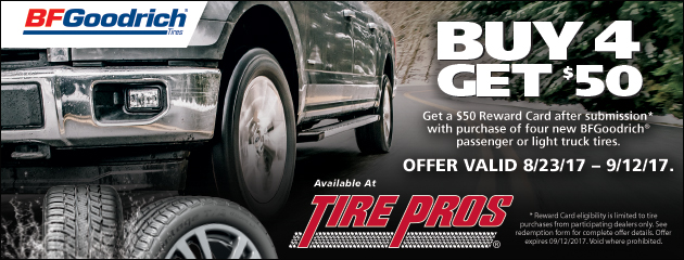 BFGoodrich Fall Rebate