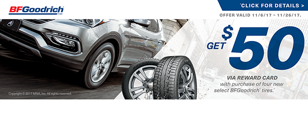 BFGoodrich Winter Rebate
