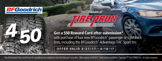 BFGoodrich Summer Rebate