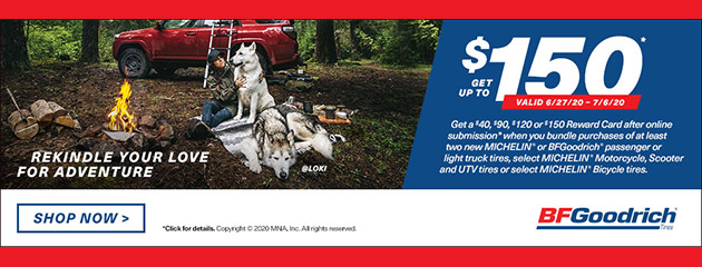 BFGoodrich Summer 2020 Rebate
