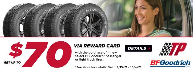 Tire Pros BFGoodrich Rebate
