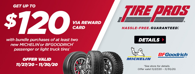 BFGoodrich Black Friday Rebate