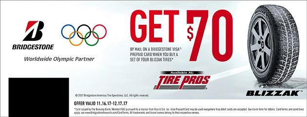 Bridgestone Winter Rebate