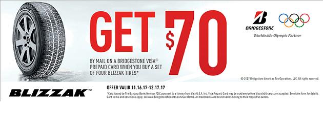 Bridgestone Winter Rebate
