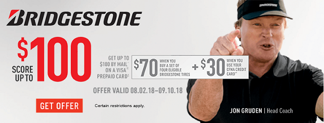 Bridgestone Summer Rebate