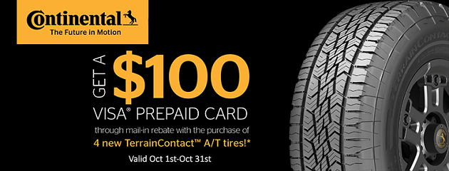 Continental Fall Rebate