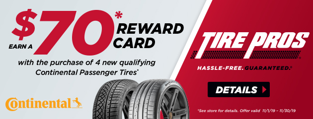 Continental Tire Pros Fall Rebate
