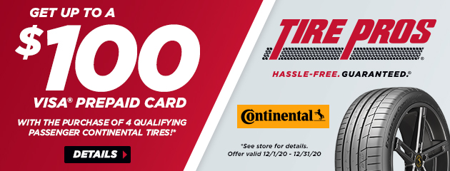 Continental Tire Pros Winter Rebate