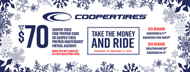 Cooper Winter Rebate