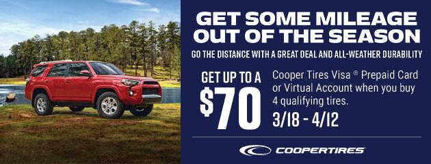 Cooper Spring Rebate