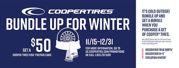 Cooper Winter Rebates