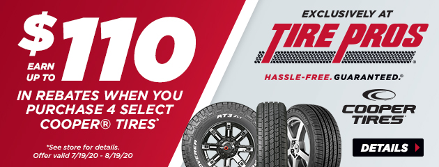 Cooper Fall Tire Promotion