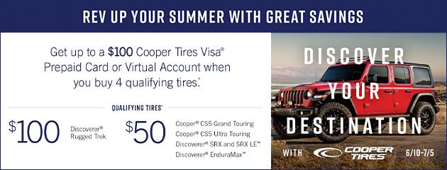 Cooper Summer 2021 Rebate