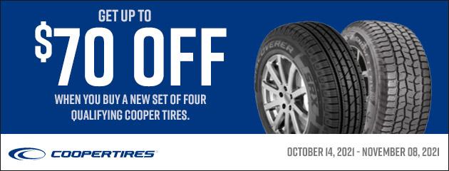 Cooper Tire Fall Rebate 2021