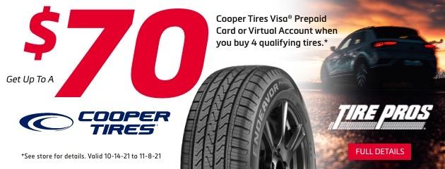Tire Pros Cooper Rebate