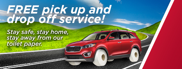 FREE Pick-up and drop off Service!