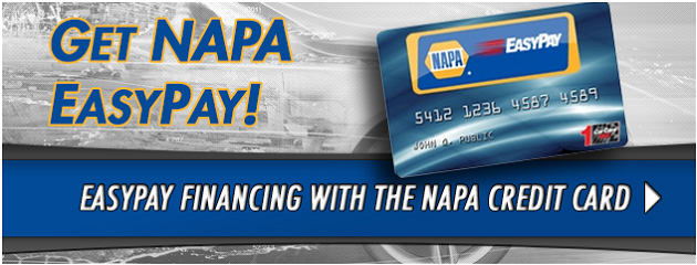 NAPA EasyPay Financing Available!