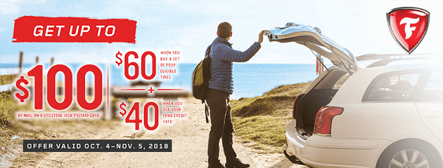 Firestone Fall Rebate