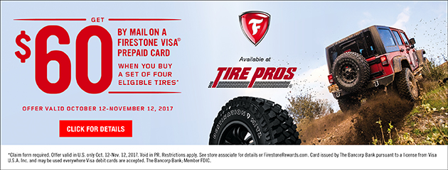 Firestone Fall Promotion