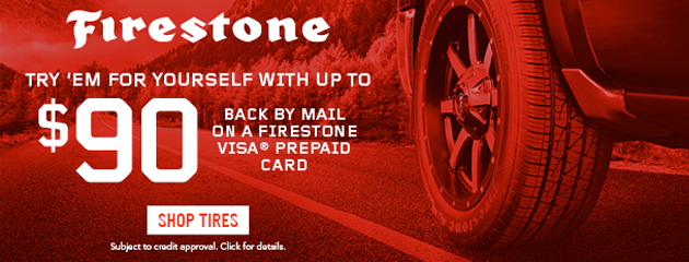 Firestone Summer 2020 Rebate