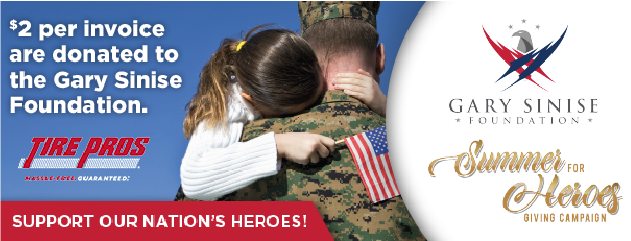 Summer for Heroes, Benefiting the Gary Sinise Foundation