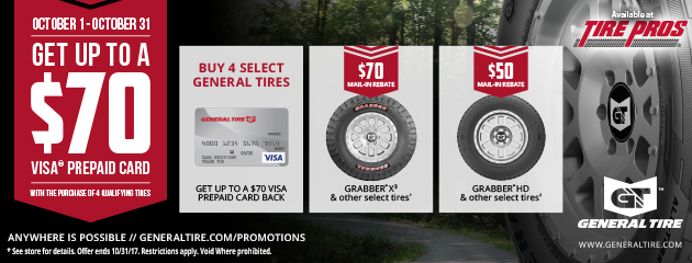 General Fall Promotion
