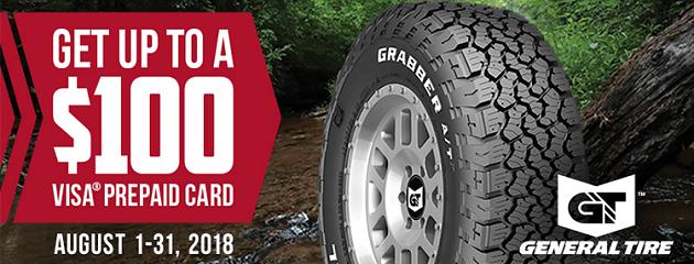 General Tire Summer Rebate