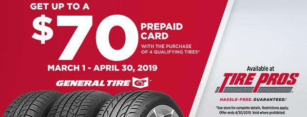 General Tire Spring Rebate