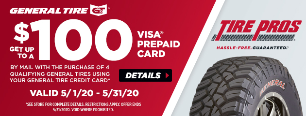 General Tire Pros Spring Rebate
