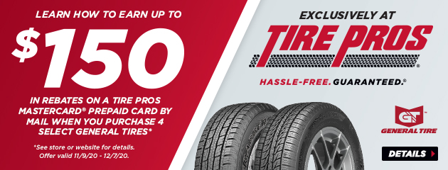 General Tire Pros Winter Rebate