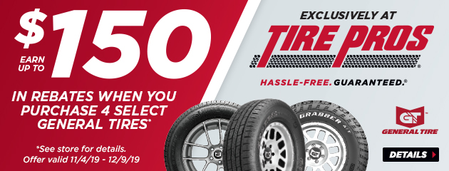 General Tire Pros Rebate