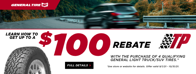 General Tire Pros September Rebate