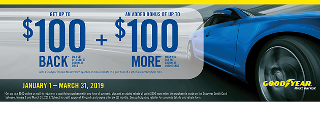 Goodyear Buy More, Save More Rebate!