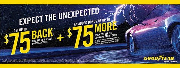 Goodyear Fall 2019 Tire Rebate