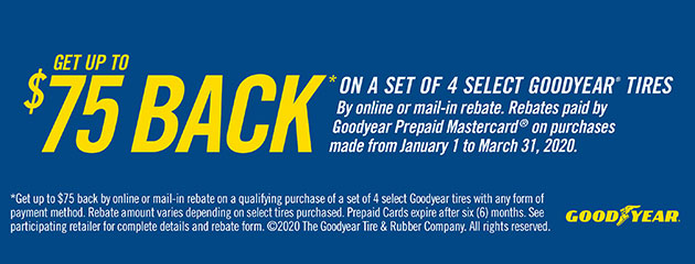 Goodyear Winter Rebate