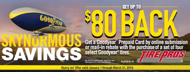 Goodyear Rebate