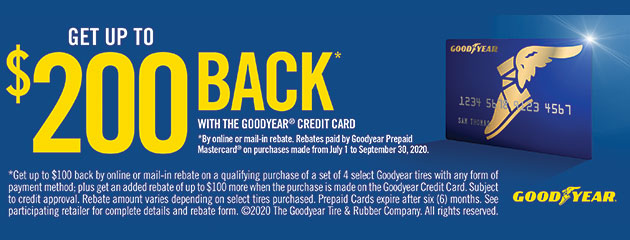 Goodyear Summer Rebate