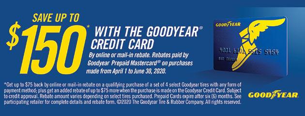 Goodyear Spring Rebate