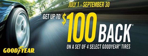 Goodyear Summer Tire Rebate