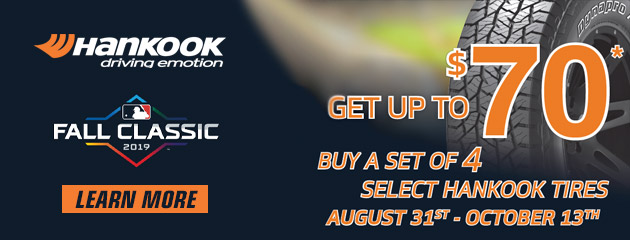 Hankook Fall Rebate