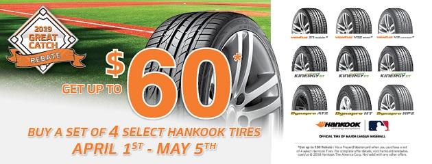 Hankook Spring Rebate