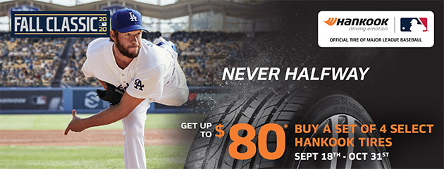 Hankook Fall Classic Rebate