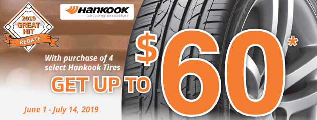 Hankook Summer Rebate