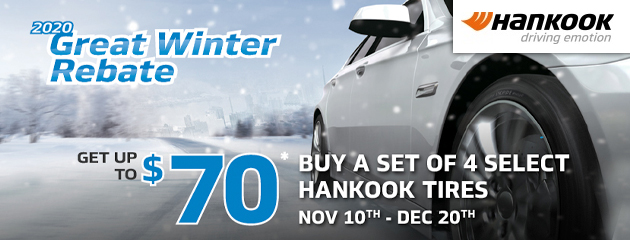 Hankook Great Winter Rebate